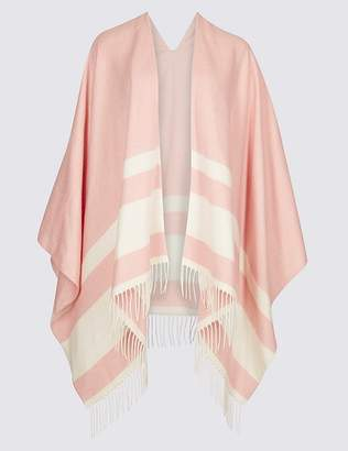 Marks and Spencer Colour Block Striped Wrap