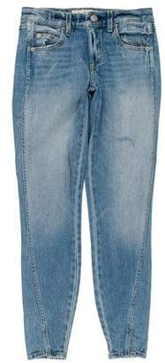 Amo Twist Mid-Rise Skinny Jeans