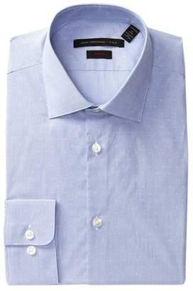 John Varvatos Collection Woven Slim Fit Dress Shirt