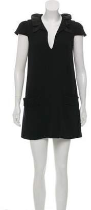 Alexander Wang Ruffled Wool Dress