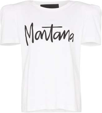 Montana print cotton t-shirt