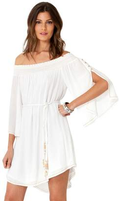 Hale Bob Ilona Cold Shoulder Dress
