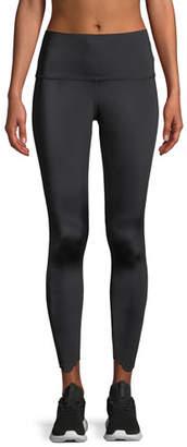 Beyond Yoga Cruz Scalloped High-Waist Midi Leggings
