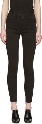 Dsquared2 Black Twiggy Jeans $495 thestylecure.com