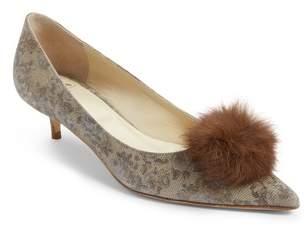 Butter Shoes Shoes Bianca Faux Fur Pom Pump