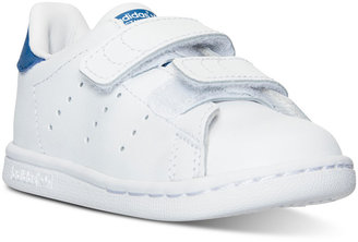 adidas Toddler Boys' Stan Smith Casual Sneakers from Finish Line $44.99 thestylecure.com