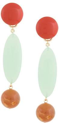 Rachel Comey marble drop earrings