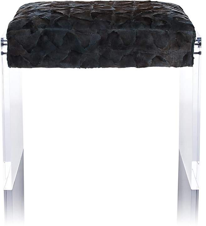 Mugello Mink Fur Bench