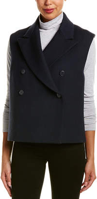 Helmut Lang Double-Breasted Wool-Blend Vest