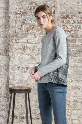 Lilla P Flannel Back Sweatshirt