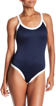 RVCA Bayside Colorblock One-Piece Swimsuit