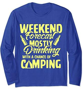 Camping Long Sleeve For Dinking Lovers Camping Lovers Gifts