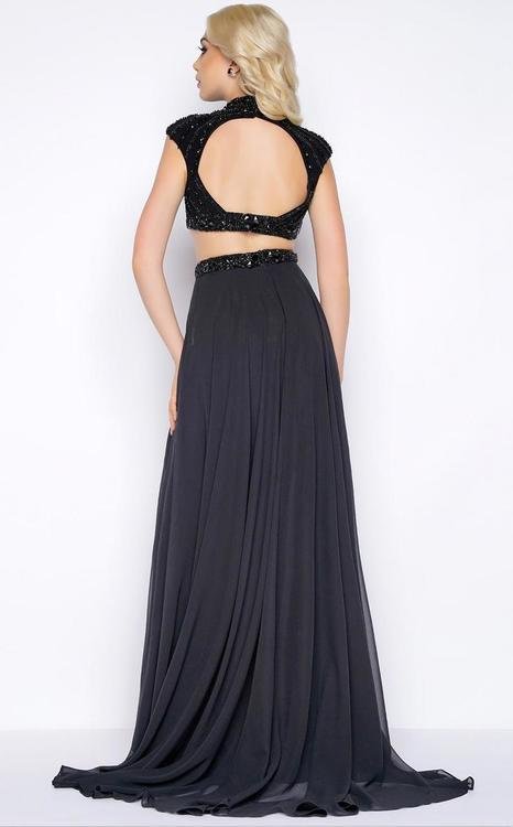 Cassandra Stone - Two Piece Cap Gown Style 76968A
