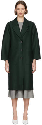 Harris Wharf London Green Oversized Coat