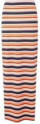 Dorothy Perkins Womens **Tall Multi Colour Striped Maxi Skirt