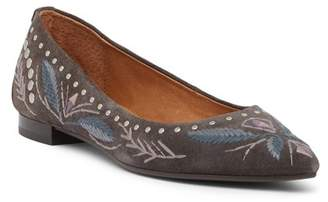 Frye Sienna Embroidered Ballet Flat