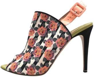 Nicholas Kirkwood Multicolour Cloth Heels