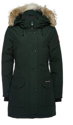 Canada Goose Trillium Down Parka with Fur-Trimmed Hood