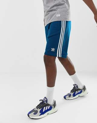 adidas 3 Stripe Shorts DV1525 Blue