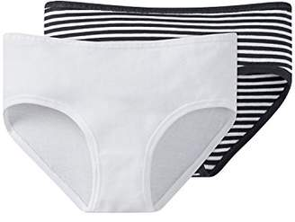 Schiesser Girl's 158864 Knickers,14 Years Pack of 2