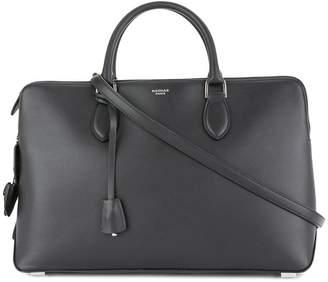 Rochas tri zip shoulder bag
