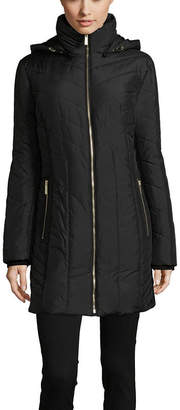 A.N.A Woven Water Resistant Heavyweight Puffer Jacket