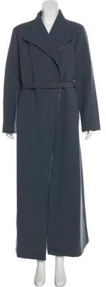 Gianni Versace Wool Long Coat