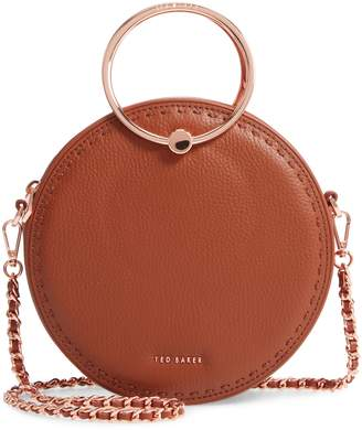 Ted Baker Maddie Circle Leather Crossbody Bag