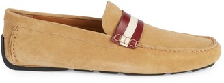 Bally Walker Suede Driving Loafers
