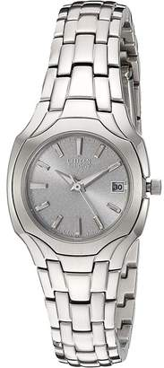 Citizen EW1250-54A Eco-Drive Stainless Steel Watch Watches