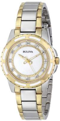 Bulova Women's 98P140 Analog Display Japanese Quartz Watch
