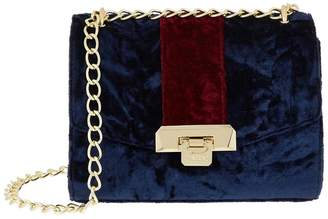 Harrods Pershore Velvet Bag
