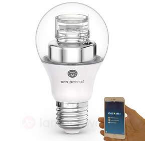 E27 8W LED-Lampe Carus Connect Smart White