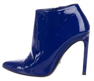 Gucci Patent Leather Ankle Booties