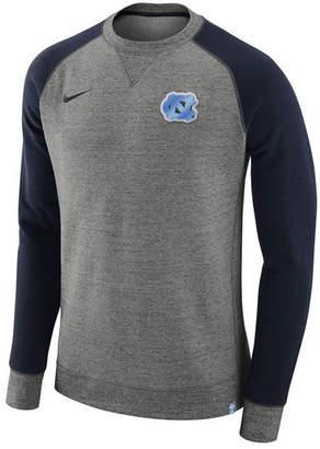 Nike Men's North Carolina Tar Heels AW77 Crew Sweatshirt