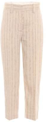 Acne Studios Trea striped linen trousers