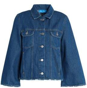 MiH Jeans Oliver Distressed Denim Jacket