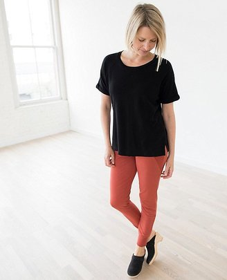 Women French Terry Tee In 100% Cotton $60 thestylecure.com