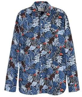 Mango Man MANGO MAN Hawaiian printed slim-fit shirt