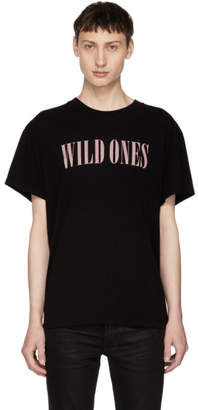 Amiri Black Wild Ones T-Shirt