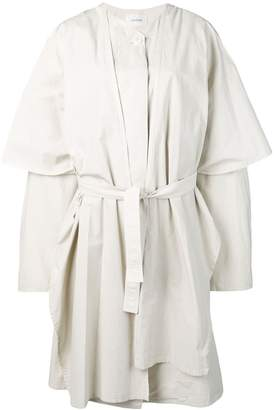 Lemaire oversized layered trench coat