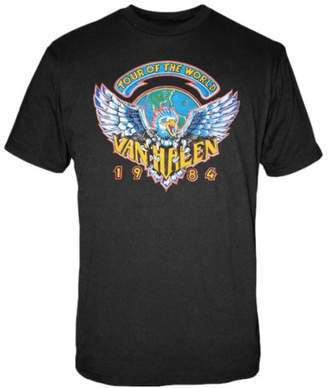 FEA Men's Van Halen 1984 Tour The World Men's T-Shirt