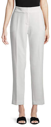 Kasper SUITS Solid Stretch Crepe Pants