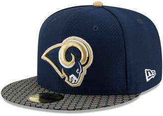 New Era Boys' Los Angeles Rams Sideline 59FIFTY Fitted Cap