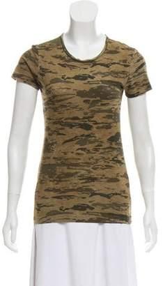 J Brand Scoop Neck Short Sleeve T-Shirt