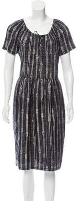 Max Mara Printed Midi Dress