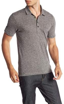Billy Reid Smith Short Sleeve Slim Fit Polo