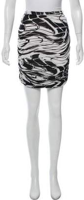 Emilio Pucci Jersey Mini Skirt