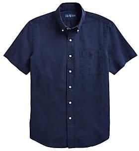 Polo Ralph Lauren Men's Cotton Seersucker Casual Shirt
