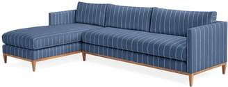 Serena & Lily Barton Chaise Sectional - Left Facing